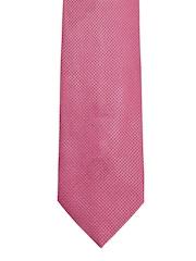 Louis Philippe Red Silk Tie