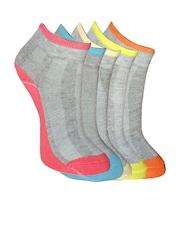 MARC Women Set of 5 Grey Socks