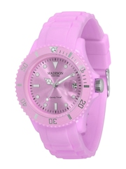 Madison New York Women Purple Dial Watch