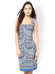 Magnetic Designs Blue Bodycon Dress