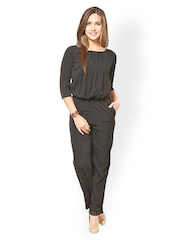 Magnetic Designs Women Black Jumpsuit