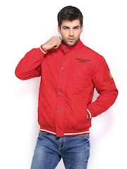 Manchester United Men Red Padded Jacket