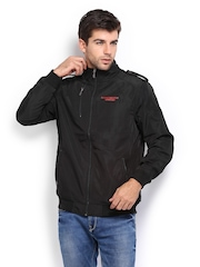 Manchester United Men Black Jacket