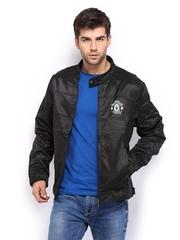 Manchester United Men Black Jacket