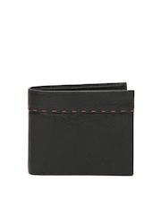 Manchester United Men Black Leather Wallet