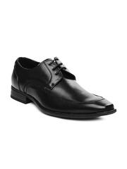 Mancini Men Black Semi-Formal Shoes
