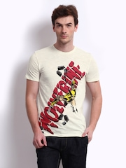 Marvel Men Off-White Wolverine Printed T-shirt
