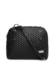 Mast & Harbour Black Sling Bag