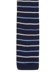 Mast & Harbour Blue Striped Tie