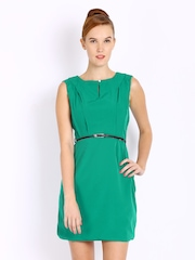 Mast & Harbour Green Tailored Dress