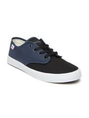 Mast & Harbour Men Black & Blue Casual Shoes