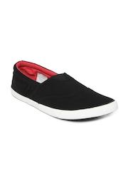 Mast & Harbour Men Black Casual Shoes