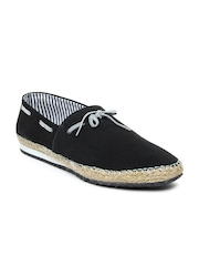 Mast & Harbour Men Black Suede Casual Shoes