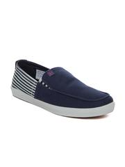 Mast & Harbour Men Navy Blue Casual Shoes