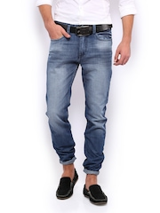 Mast & Harbour Men Blue Jeans