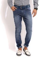 Mast & Harbour Men Blue Club Jeans