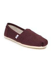 Mast & Harbour Men Burgundy Casual Shoes
