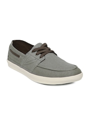 Mast & Harbour Men Grey Casual Shoes