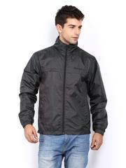 Mast & Harbour Men Charcoal Grey Jacket