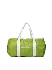 Mast & Harbour Men Green Duffle Bag