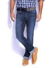 Mast & Harbour Men Blue Jeans