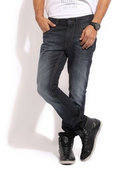 Mast & Harbour Men Black Skinny Fit Club Casual Jeans