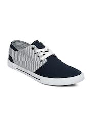 Mast & Harbour Men Navy Canvas Shoes
