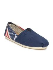 Mast & Harbour Men Navy Casual Shoes