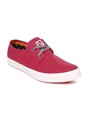 Mast & Harbour Men Red Casual Shoes