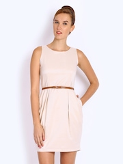 Mast & Harbour Beige Tailored Dress