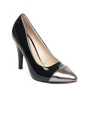 Mast & Harbour Women Black Pumps