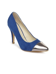 Mast & Harbour Women Blue Pumps