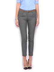 Mast & Harbour Women Grey Jolly Trousers