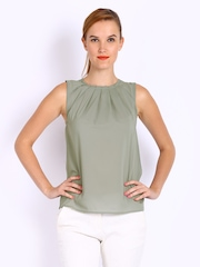Mast & Harbour Women Grey Kiara Top