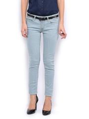Mast & Harbour Women Light Blue Jeans