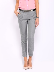 Mast & Harbour Women Light Grey Marina Trousers