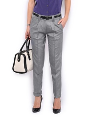 Women Grey Marina Formal Trousers Mast & Harbour