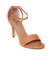 Mast & Harbour Women Peach-Coloured Heels