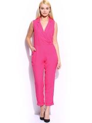 Mast & Harbour Women Pink Club Jumpsuit