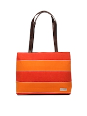 Mast & Harbour Women Red & Orange Shoulder Bag