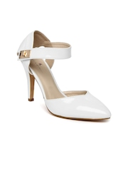 Mast & Harbour Women White Heels