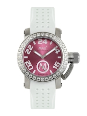Max XL Women Pink Dial Watch