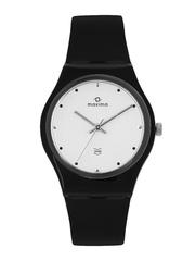 Maxima Aqua Men Silver Toned Dial Watch 02133PPGW