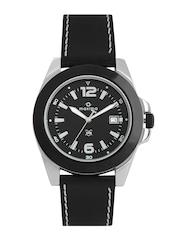 Maxima Attivo Men Black Dial Watch