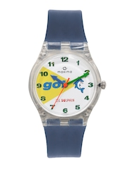 Maxima Li'l Dolphin Kids Unisex White Dial Watch