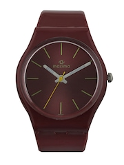 Maxima Unisex Brown Dial Watch