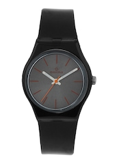 Maxima Unisex Gunmetal Toned Dial Watch