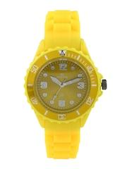 Maxima Women Yellow Dial Watch 31004PPLN