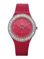Maxima Women Pink Dial Watch 29294PPLN