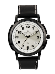 Maxima Men Silver Dial Watch